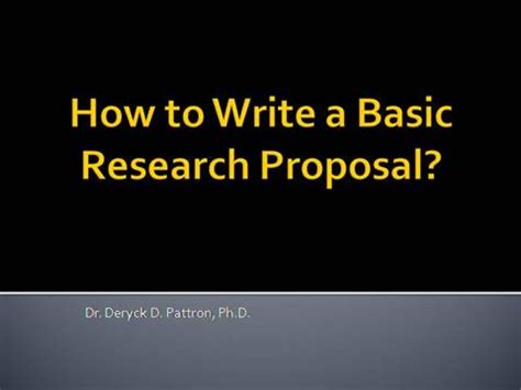 Research Proposal Sample: Tips and Relevance